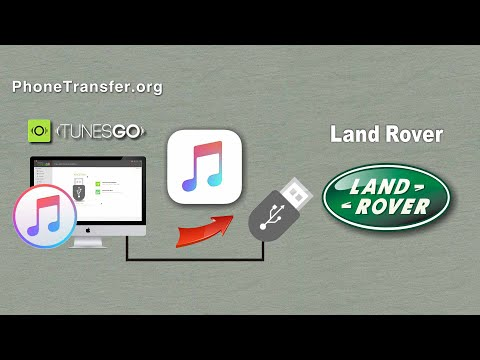 How to Put iTunes Music on your Land Rover Car, Sync Songs from iTunes to Land Rover Car
