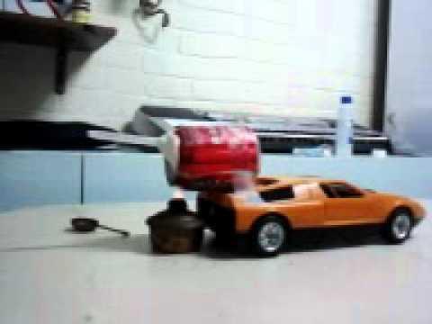 Carro con carga de agua y vapor youtube - Chimeneas electricas con vapor de agua ...