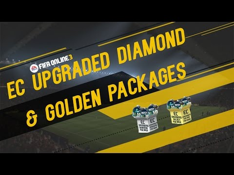 EC Upgraded Diamond and Golden Package Opening - FIFA ONLINE 3 (ENGLISH)