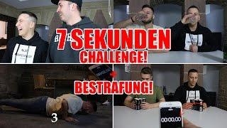 7 SEKUNDEN CHALLENGE + Bestrafung | mit Inscope21 Barid & Saehmon