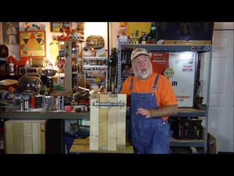 "Pallet Wood Three Ring Binder ""Hillbilly Three Ring Binder"" The DIY Magician"