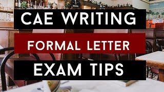 How to Write a Foŗmal Letter for CAE
