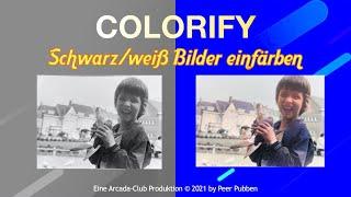 Colorify - Schwarz/weiß Bilder per App umfärben