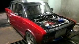 ВАЗ 2106 16v turbo замер мощности 520 л.с.(, 2011-11-27T21:03:55.000Z)