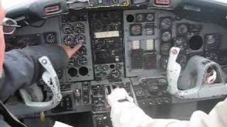 sabreliner engine start and run up