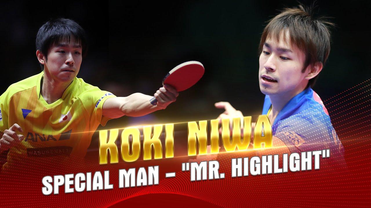 "Download Koki Niwa - Special Man - ""Mr. Highlight""   Best Table Tennis Points"