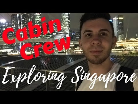 CABIN CREW EXPLORING SINGAPORE | 9 Day Trip to Sydney, Australia | CREWLIFE