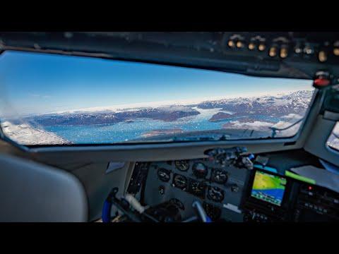 Leaving Greenland in a DC-3, Atlantic Crossing