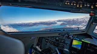 Leaving Greenland in a DC-3, Atlantic Crossing