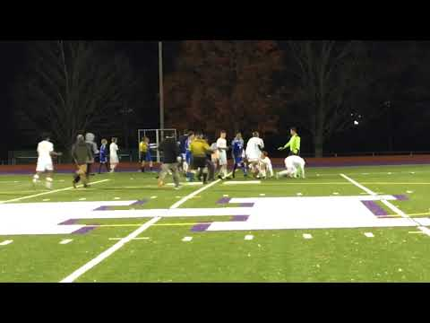 Boys soccer game between Drury, Hopkins High School ends in fight