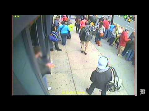 FBI video of suspects in Boston Marathon bombing