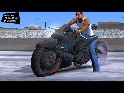 INJ2 CatWoman's Motorcycle Test Drive GTA SA