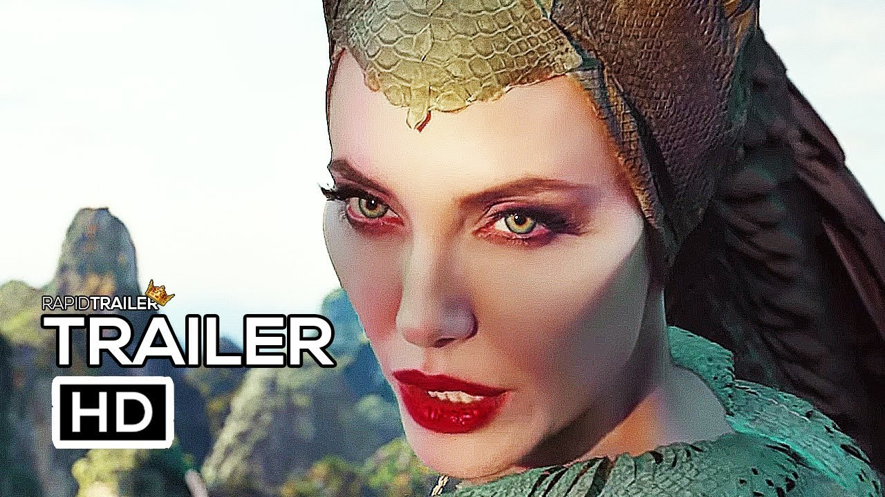 Maleficent 2 Mistress Of Evil Official Trailer 2 2019 Angelina Jolie Disney Movie Hd