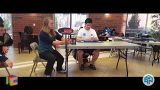 6.39 Official Rubik's Cube 3x3 Average of 5 - Reno Fall 2018