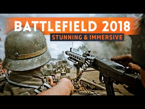 "► BATTLEFIELD 2018 IS ""VISUALLY STUNNING"" & ""DEEPLY IMMERSIVE"" Says EA CEO (Next Battlefield Game)"