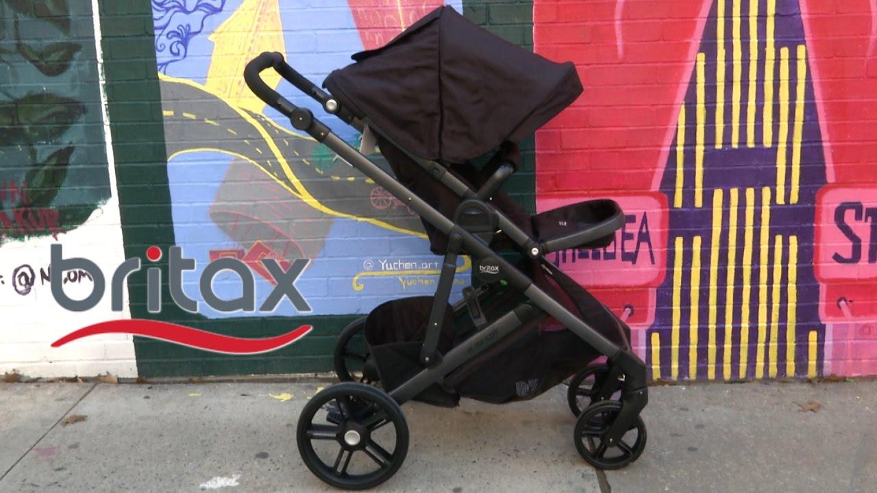 B-Ready Stroller from Britax & B-Ready Stroller from Britax - YouTube