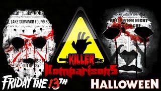 Killer Komparisons - Jason Voorhees Vs Michael Myers - Friday The 13th/Halloween