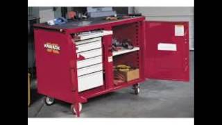 Knaack 63xxx  Storagemaster Heavy Duty Mechanics Rolling Work Bench