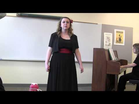 Alyssa Lyngaas - Spanaway Lake High School Soloist 2015