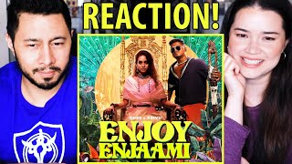 ENJOY ENJAAMI | Dhee ft. Arivu | Prod. Santhosh Narayanan | Music Video Reaction by Jaby & Achara!
