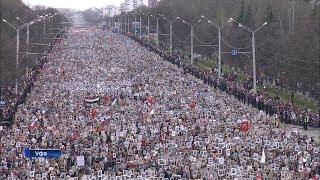 Шествие «Бессмертного полка» в Уфе собрало 100 тысяч человек
