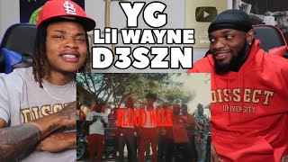 WAYNE SPAZZED!! | YG - Blood Walk feat. Lil Wayne & D3szn (Official Video)