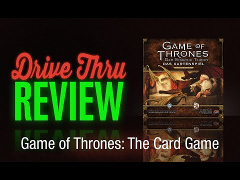 Game Of Thrones: The Card Game (Second Edition) Review