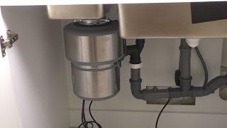 видео Измельчитель пищевых отходов