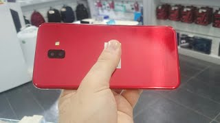 Samsung Galaxy J6 PLUS RED review!!