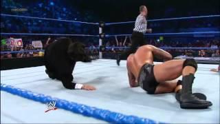 Randy Orton RKO Ricardo Rodriguez 5/11/2012