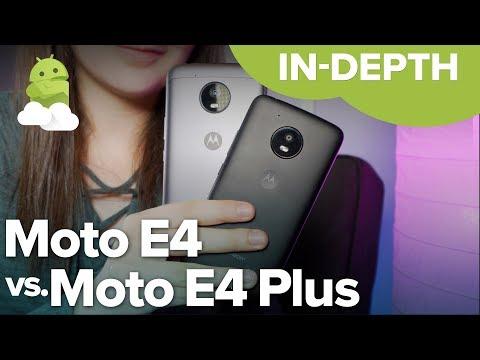 Moto E4 vs. Moto E4 Plus: Which should you buy?