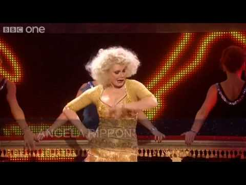 Angela Rippon performs 'Hey Big Spender' - Let's Dance for Comic Relief - BBC One
