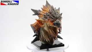 BANKBILL KINGDOM - Monster Hunter Tri Rathalos x Lagiacrus Head Figures