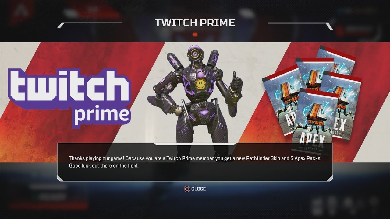 Actual Guide On How To Get A FREE Legend Skin And 5 Apex Packs (Free  LEGENDARY Twitch Prime Outfit)