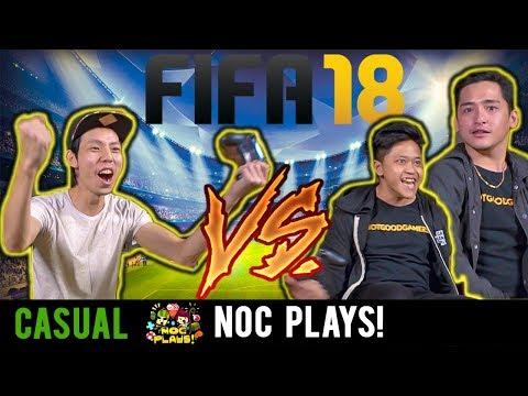 NOC Plays VS NotGoodGamers! (FIFA 18)