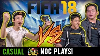 NOC Plays VS NotGoodGamers! (FIFA 18)