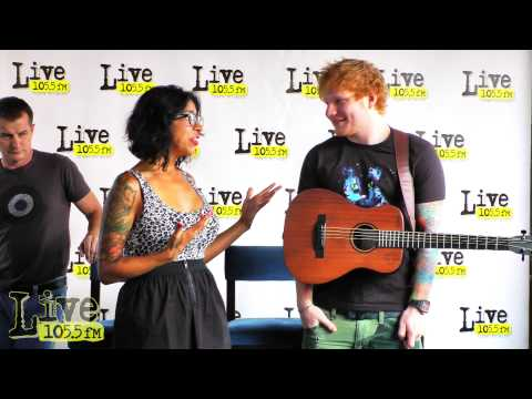 Ed Sheeran Performance and Interview: Talks Rapper The Game, Breaking Bad, and Rupert Grint
