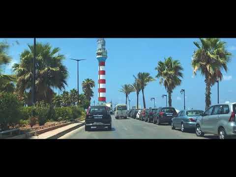 Car driving in Beirut 2018 - 2