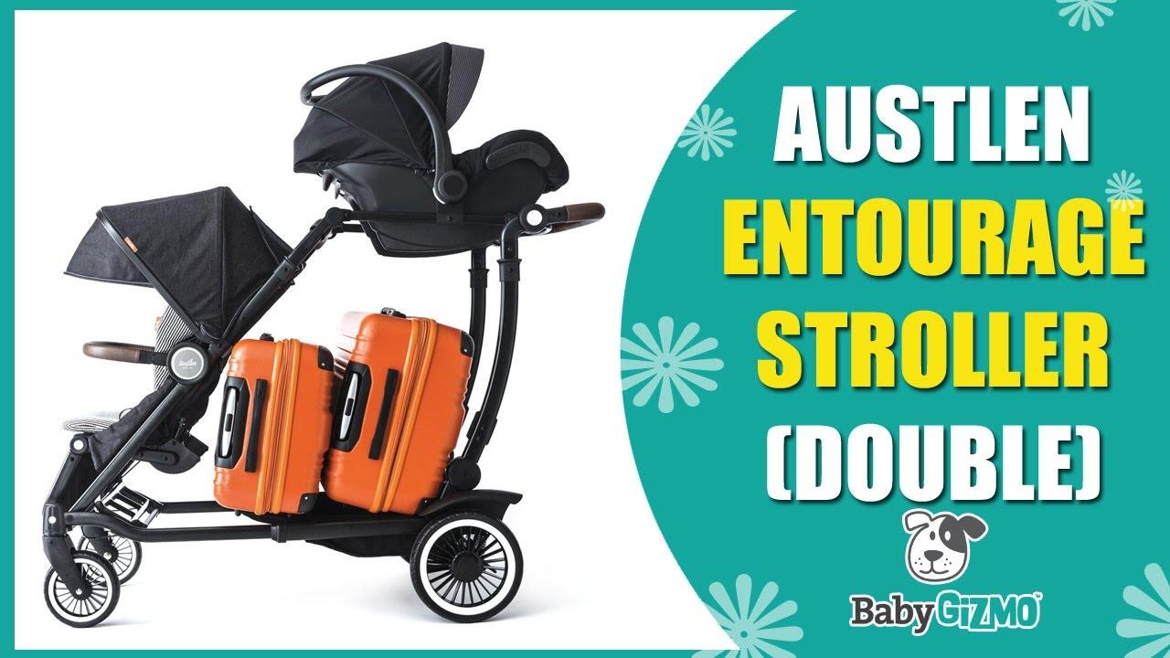 Austlen Entourage Baby Stroller Review Part 2 Best Double Strollers