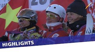 Hanna Huskova seals maiden win in season-opening Aerials in S. Garden   Highlights