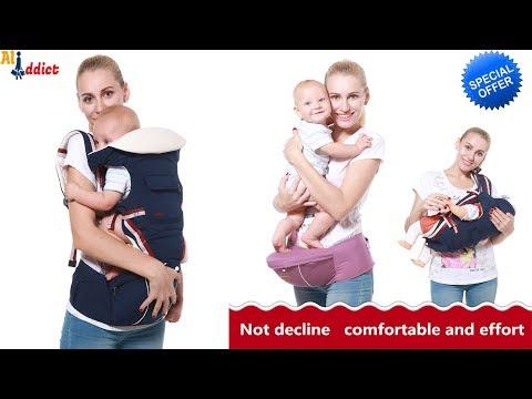 2018 Best selling original Ergobaby Carrier Review - portable baby sling backpack Kangaroos