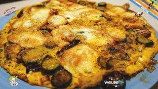336 - Frittata di cipolle, zucchine e scamorza affumicata...ne vorrei 'na tonnellata!