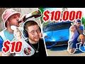 SIDEMEN $10,000 vs $10 TAKEAWAY