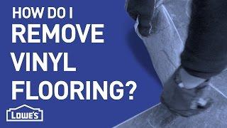 How Do I Remove Vinyl Flooring? | DIY Basics