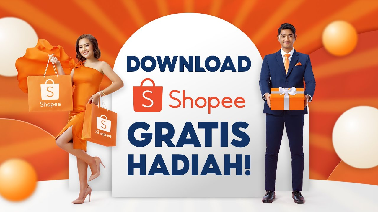 Download Shopee Sekarang, Gratis Berbagai Hadiah!