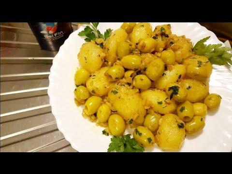 pomme-de-terre-sautées-aux-olives