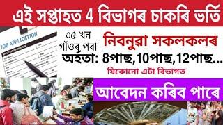 Latest career in Assam career apply now 2020 job application