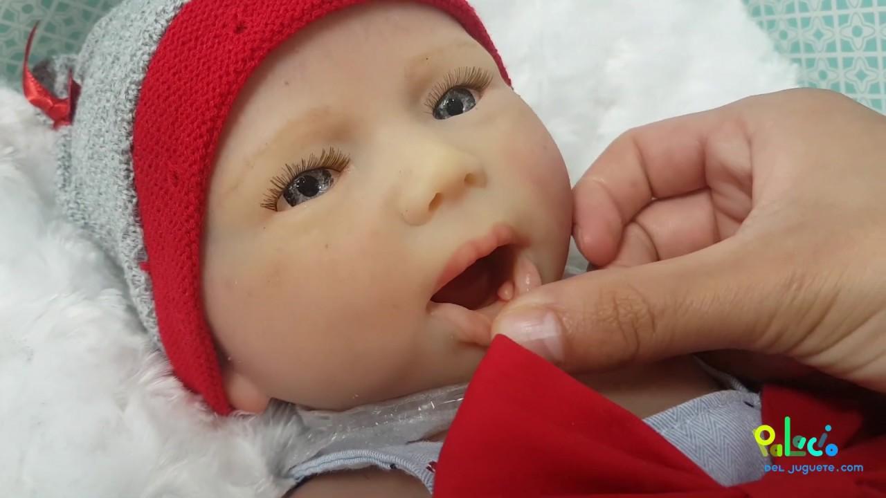 Bebé Reborn De Silicona Inés Bebés Hiperrealistas En Palaciodeljuguete Com Youtube
