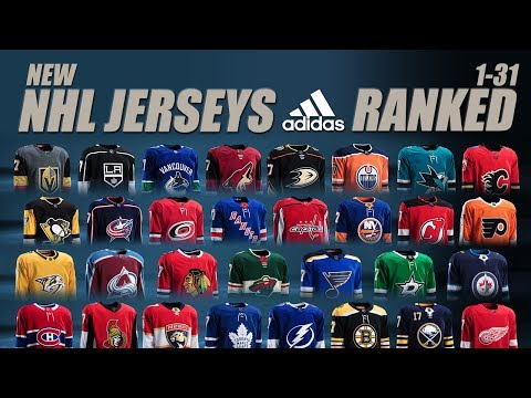 New NHL Adidas Jerseys Ranked 1-31(Home)