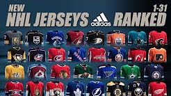 New NHL Adidas Jerseys Ranked 1-31(Home)